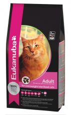 EUKANUBA ADULT FOR OVERWEIGHT & STERILIZED CATS