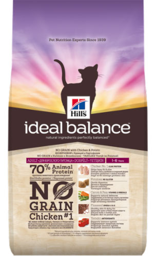 Hills Ideal Balance Feline Adult with Chicken & Potato