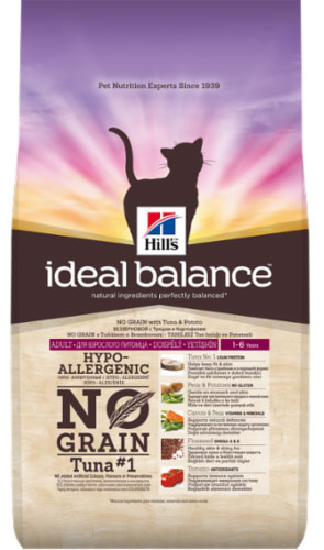 Hills Ideal Balance Feline Adult with Tuna & Potato
