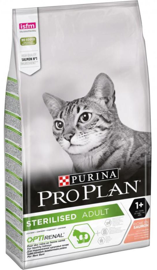 Pro Plan Adult Sterilised Cat Salmon & Tuna (лосось и тунец)