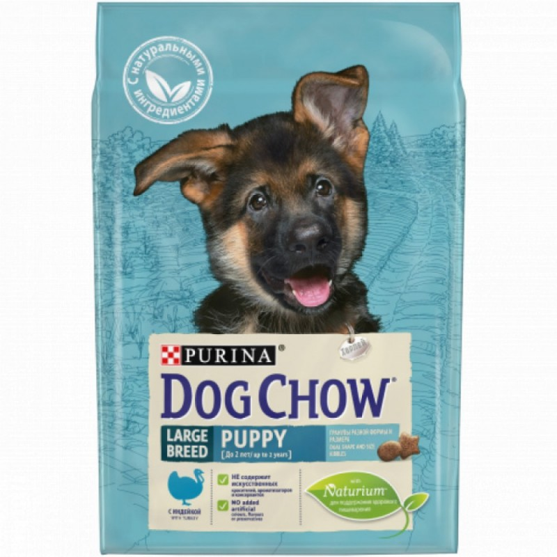 Dog Chow Puppy Large Breed with Turkey