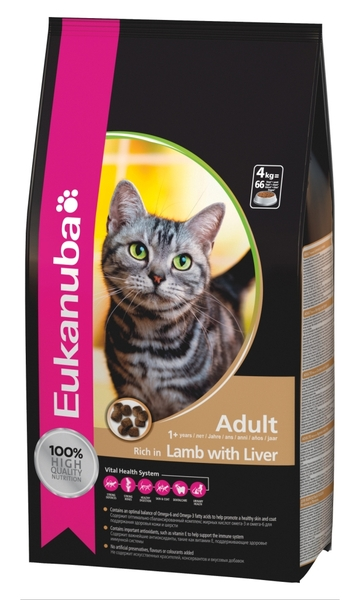 EUKANUBA ADULT RICH IN LAMB WITH LIVER