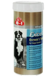 8 in 1 Excel Brewers Yeast for Large breeds
