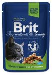 Пресервы Brit Premium Cat Pouches Chicken Slices for Sterilised