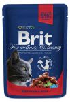 Пресервы Brit Premium Cat Pouches with Beef Stew & Peas