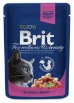 Пресервы Brit Premium Cat Pouches with Salmon & Trout