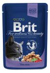 Пресервы Brit Premium Cat Pouches with Cod Fish