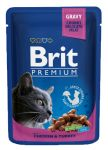Пресервы Brit Premium Cat Pouches with Chicken & Turkey