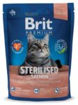 Brit Premium Cat Sterilised Salmon