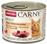 Консервы для кошек Animonda Carny Adult Turkey & Chicken Liver